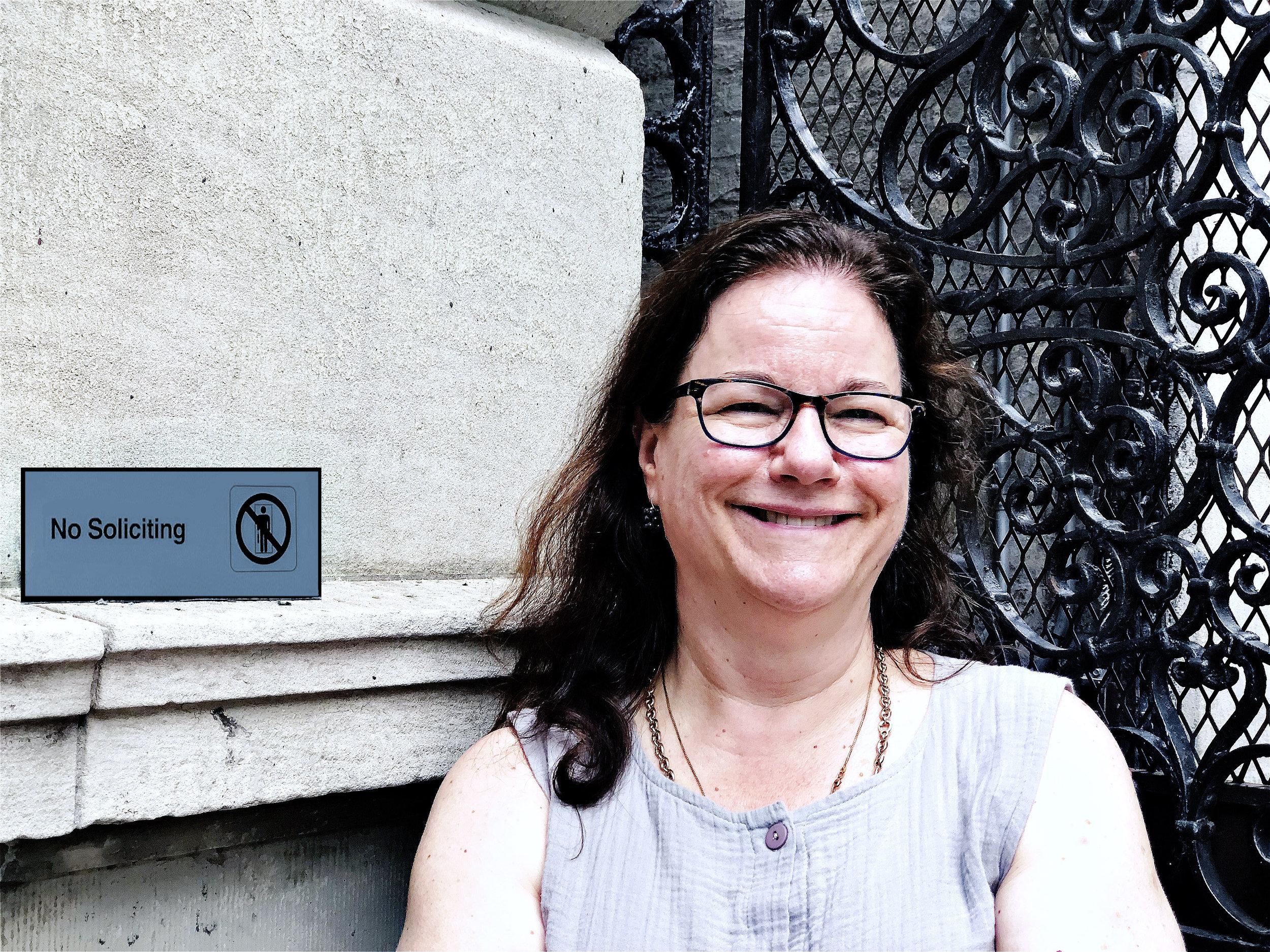 Suzy Frisch, Madison, CT, August 2019