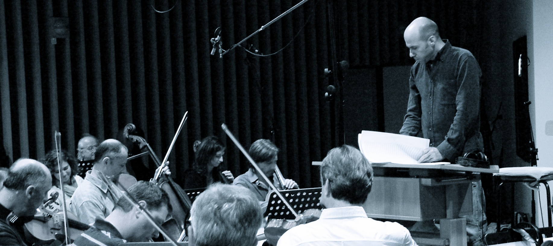 Record Session With Czech National Symphony Orchestra in Prague