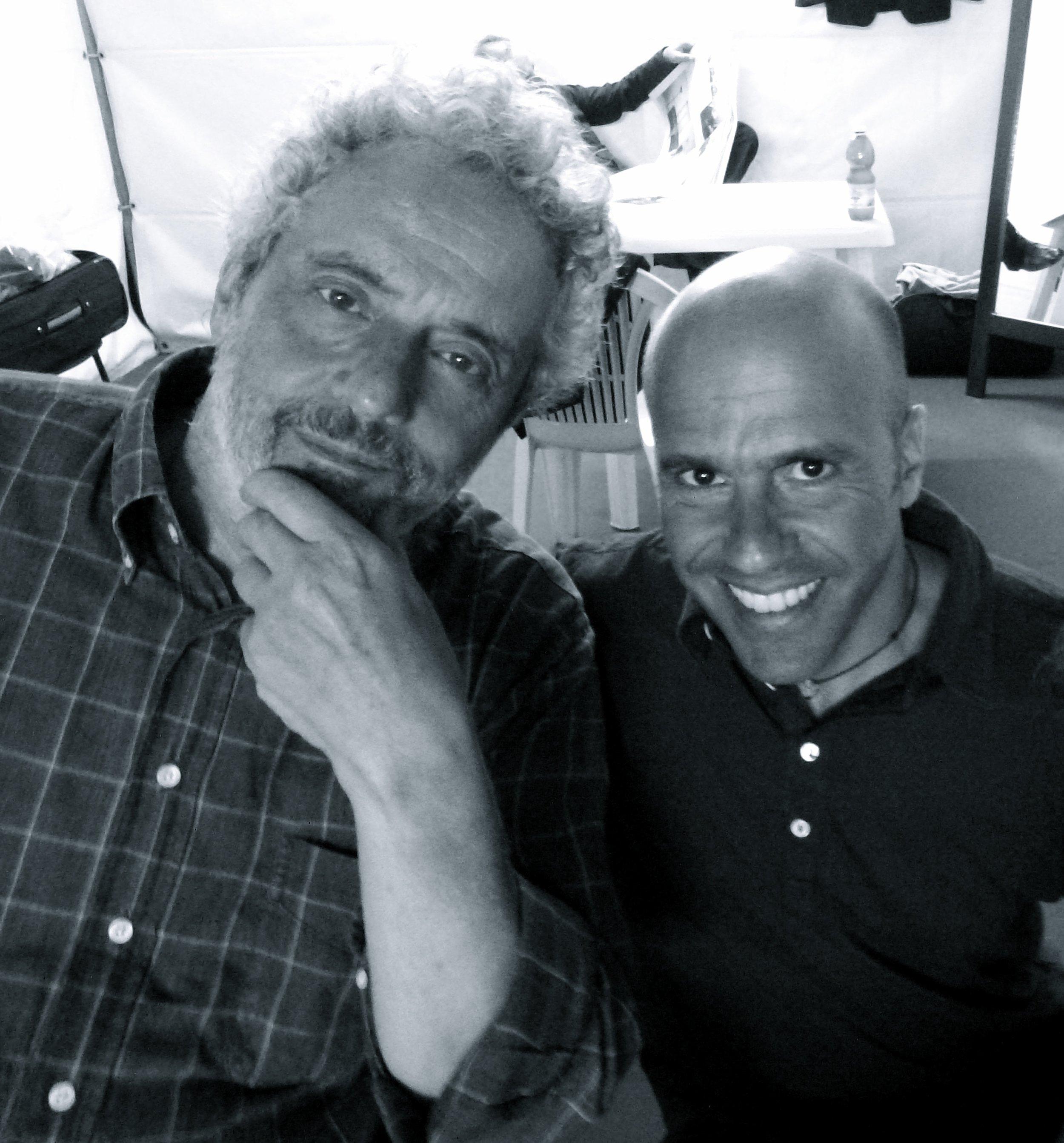 With the Oscar winner Nicola Piovani