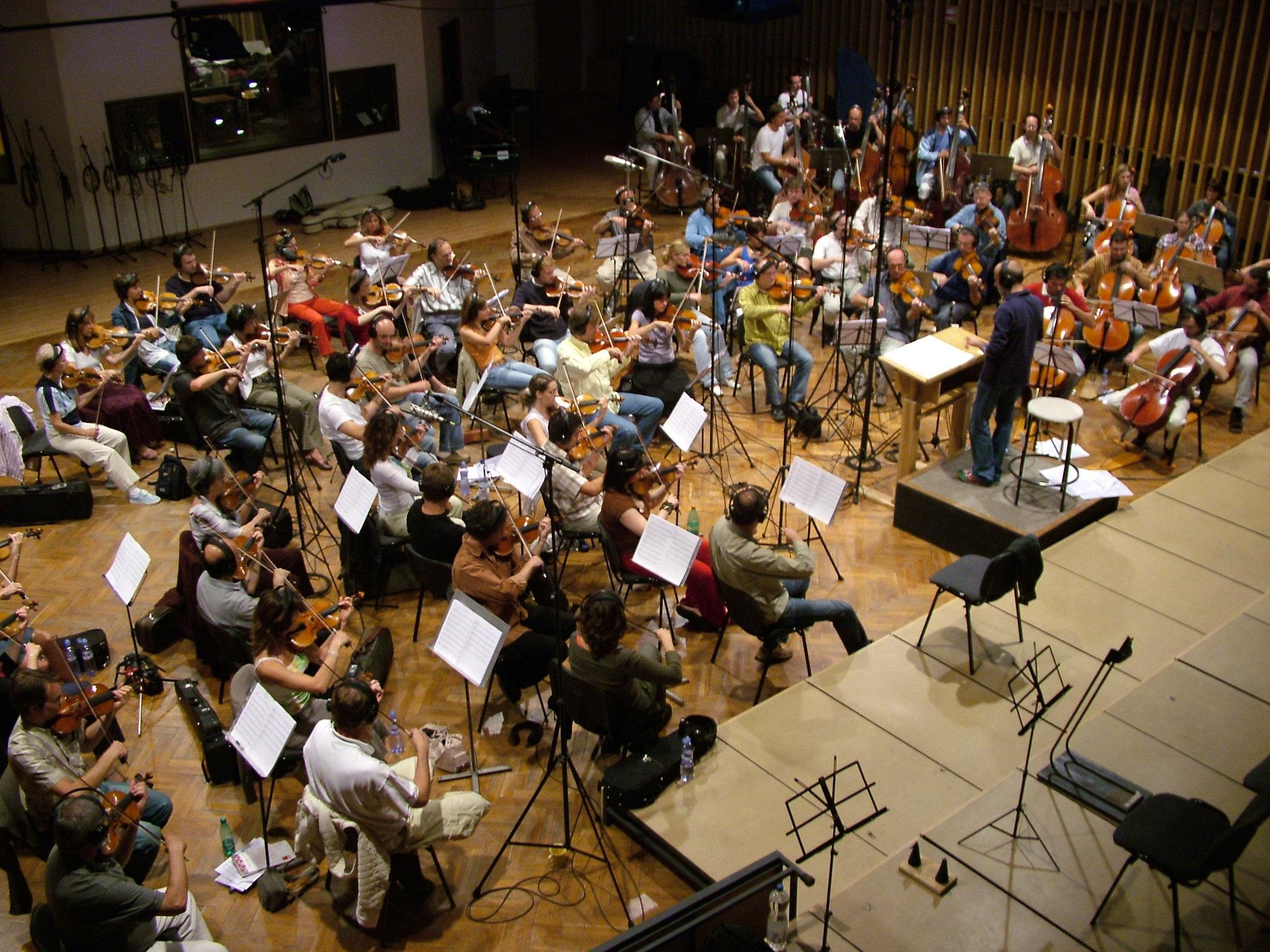 The Czech National Symphony Orchestra in Prague