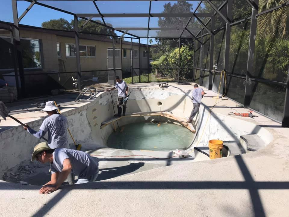 There's nothing that can stop us - Have a Existing pool?We do renovations as well!Give the old outdated pool a brand new updated lookThere's no job to small or big that we can't handle !