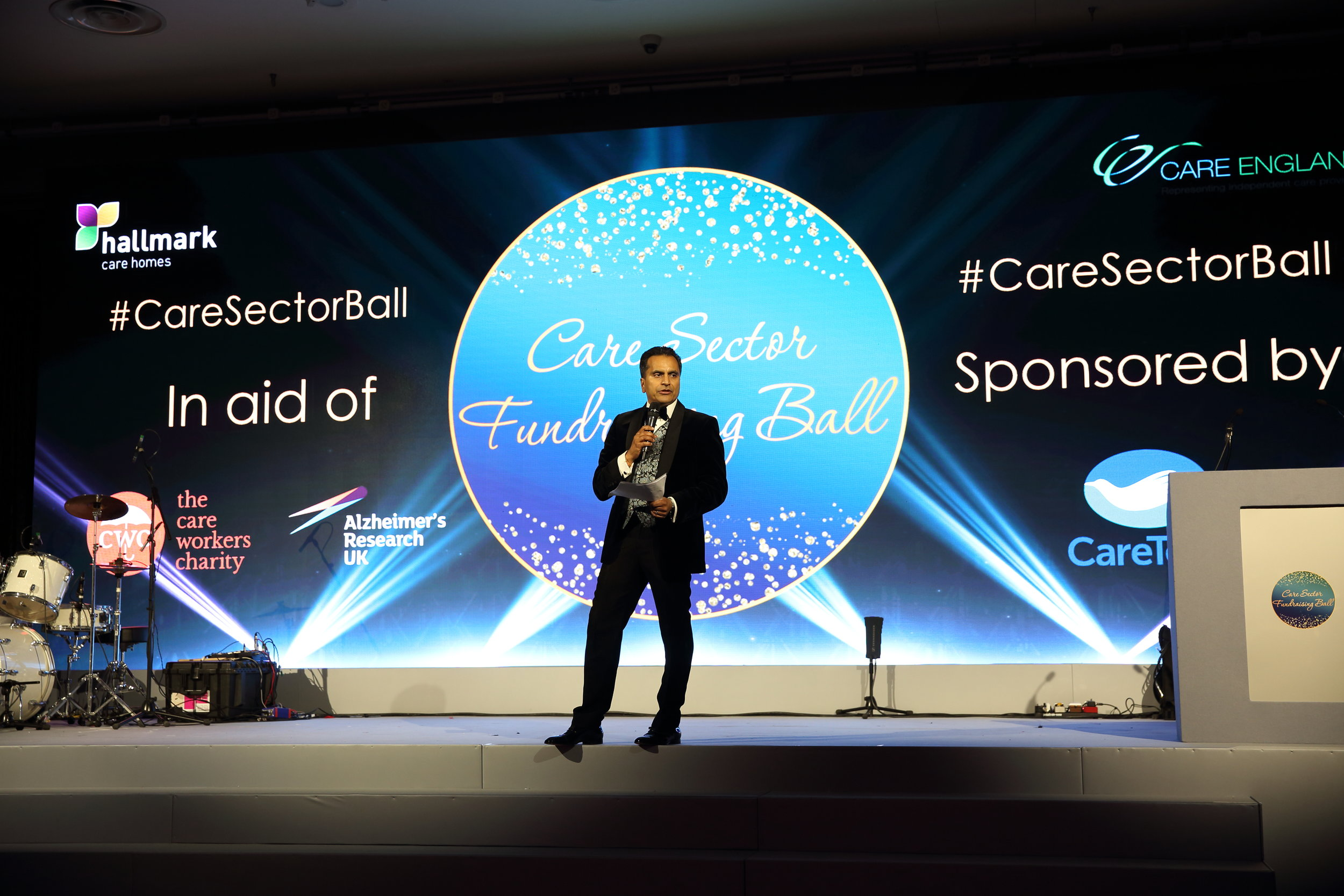 Two Brilliant Causes - Hallmark Care Homes launched the #CareSectorBall for the very first time! Our task? Build buzz, drive user interaction on the silent bid, spotlight the two supported causes.