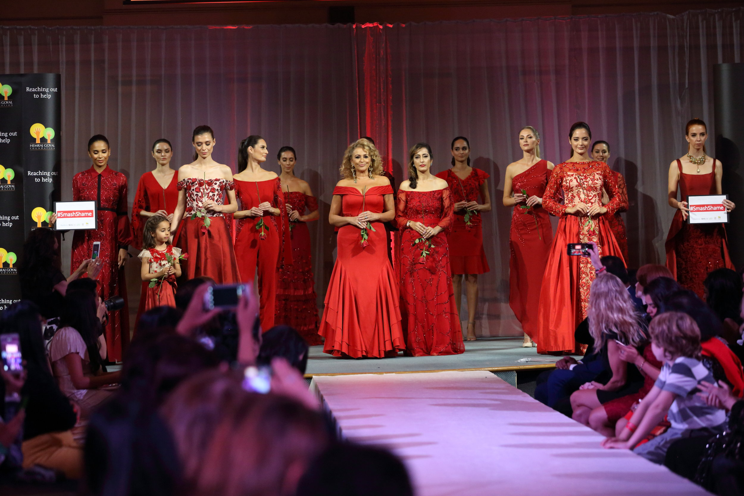 Breaking Silence - Stars walk the fashion ramp to shine a light on the serious cause of Female Genital Mutilation and Menstrual Dignity.Milana was tasked to ensure the event ran smoothly, and design the venue layout.