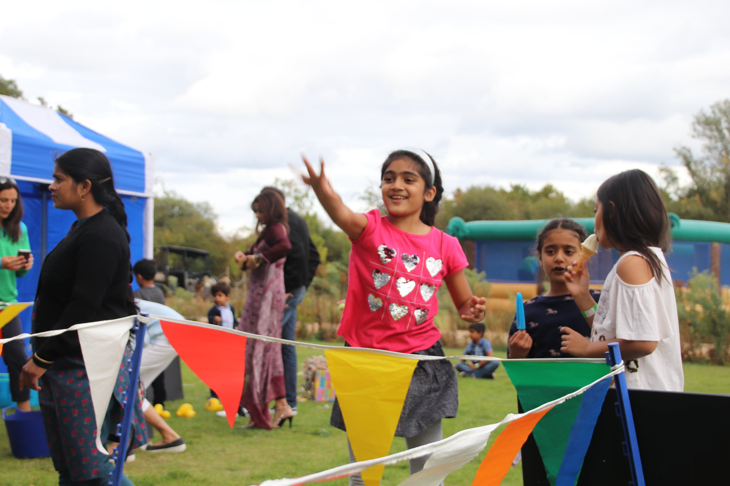 Activities for all - Immaculate planning for the client ensured that activities were suited for all ages.This ranged from boat rides, funfair stalls, crazy golf and inflatable volleyball!