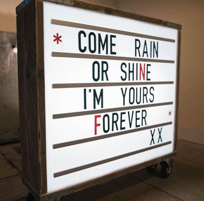 come rain or shine.JPG