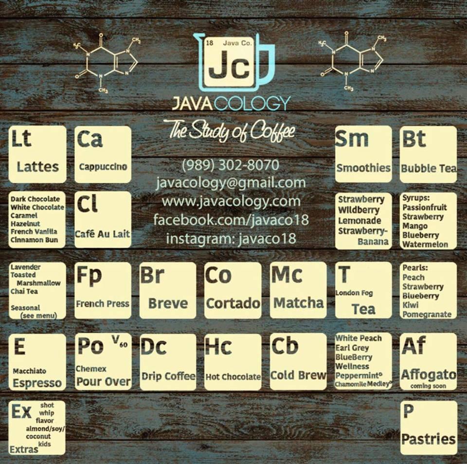 Javaco menu.jpg