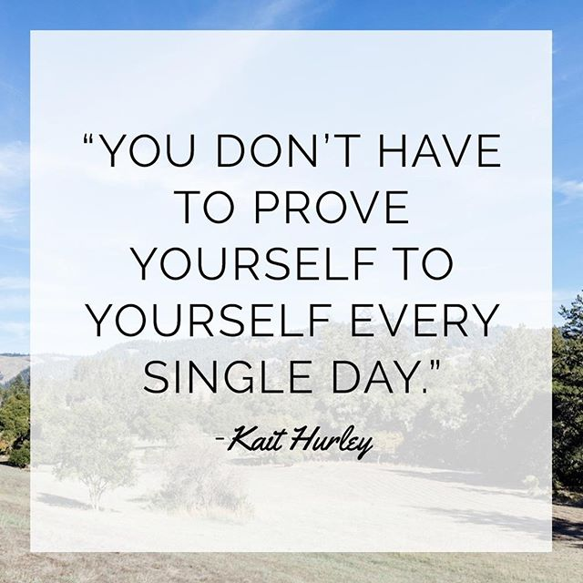 This quote by @kait.hurley came up during our personal branding session at Camp Wellness and seemed to be a theme throughout the weekend. » Just in case you need a reminder: You don't have to prove yourself to yourself every single day. You are an incredible badass making waves in this world. You bring unique gifts to this world that we all need. Stand tall in who you are girl! » » » » » #whoruntheworld #girls #feminist #womeninwellness #femalepower #femaleentrepreneur #wellness #healthywomen #sfblogger #sfwellness #sfwellnessblogger #ladyboss #boss #dreambig #manifestation #highvibe #highvibeliving #campwellness2018 #campwellness