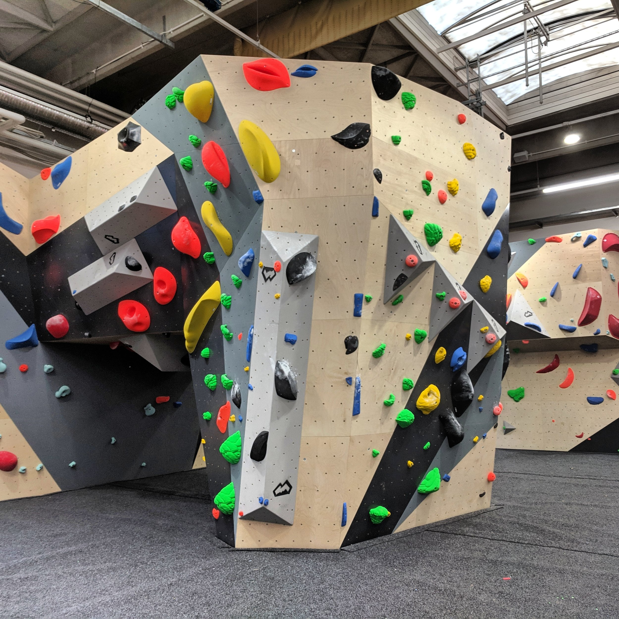 Main Climbing Wall
