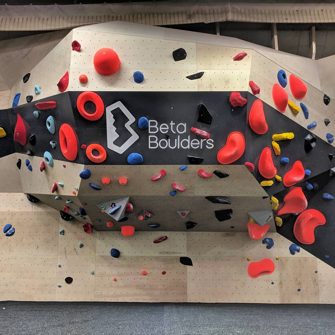 Bouldering Competition Wall