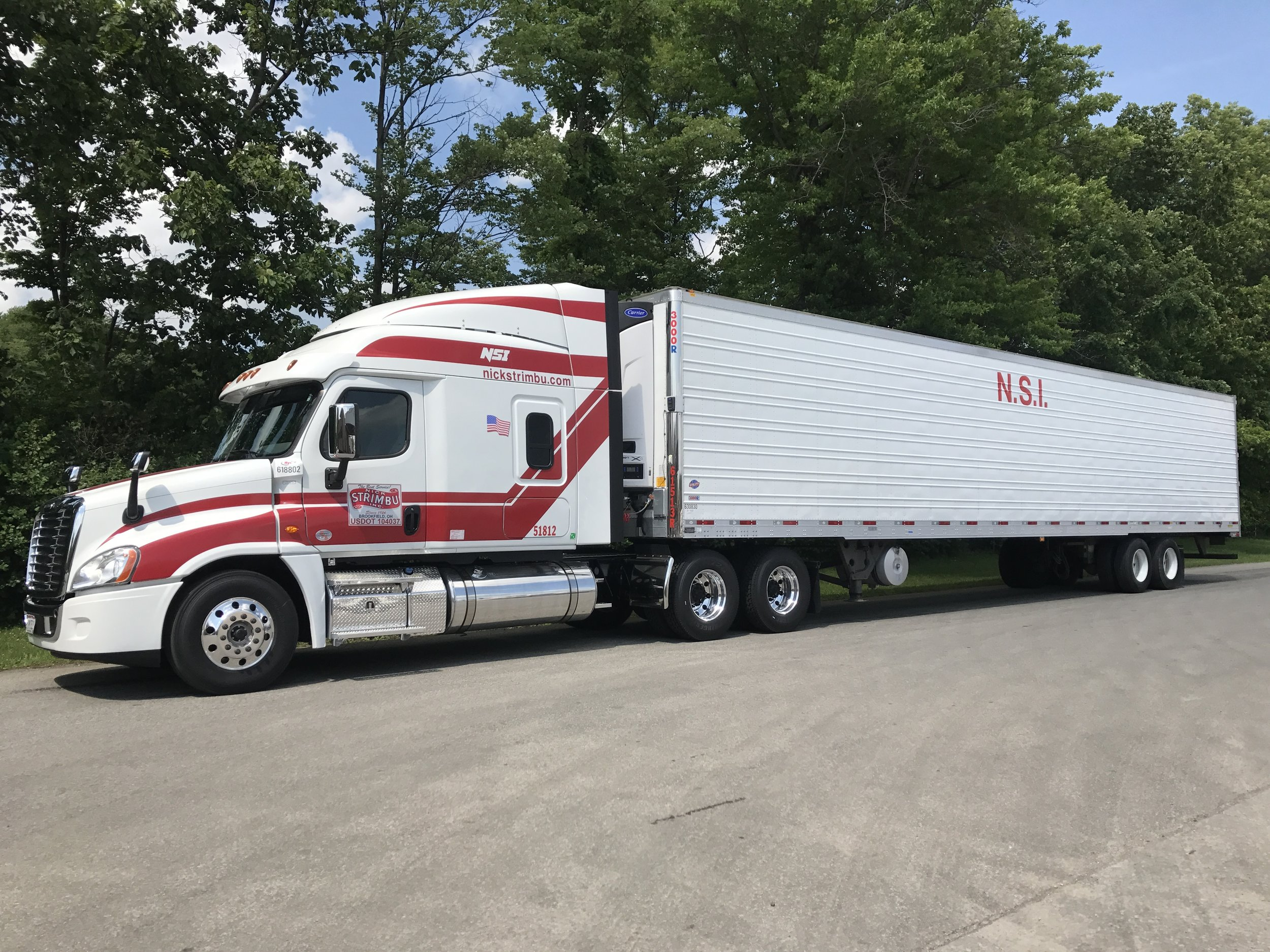 Reliability - Our fleet is expertly maintained and equipped with the most advanced technology. Our drivers are highly skilled, experienced, motivated and guided by a knowledgeable support staff. We have proximity to the nation's most important transportation arteries, which enables us to reach a large percentage of major markets daily.
