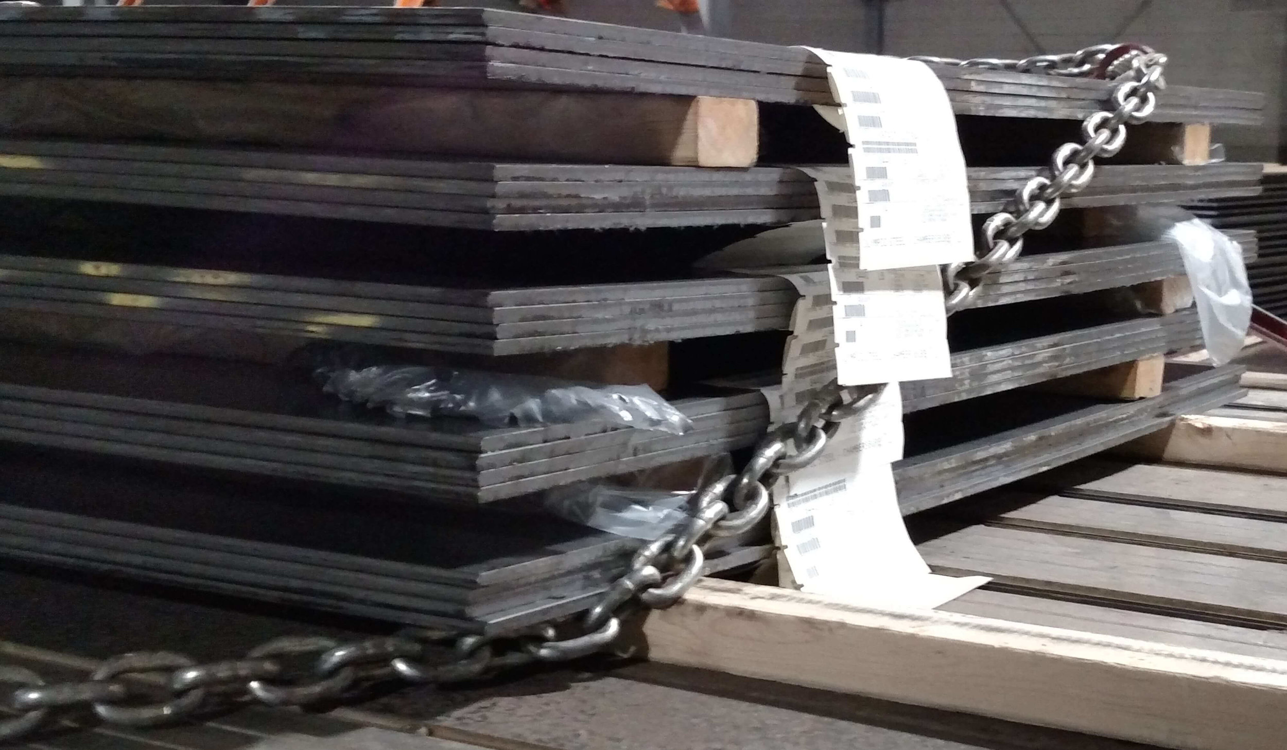 D-1:  Cross Chain sheet and plate.