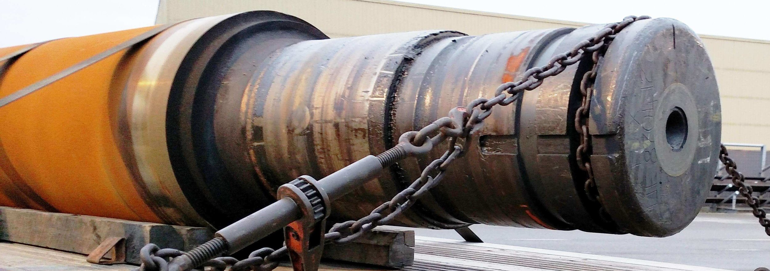 H-1:  Always choke the barrel, placing the chain at an angle, pulling back from the front and forward from the rear.