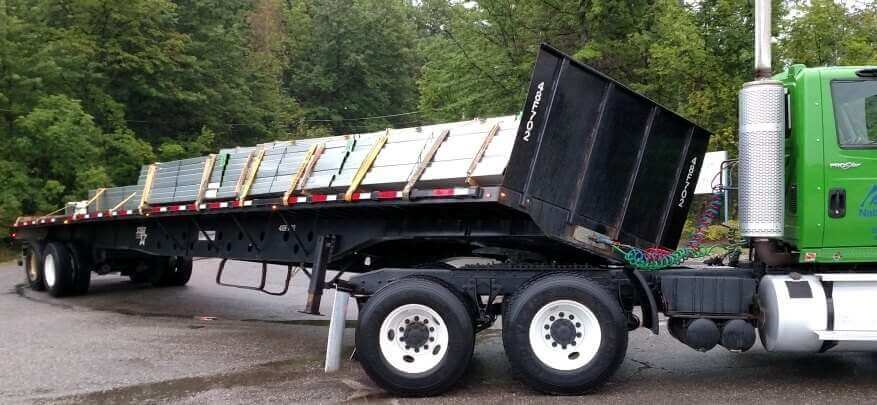 K-1:  The weight is concentrated on the left side of the trailer. This could have been prevented by proper load distribution.