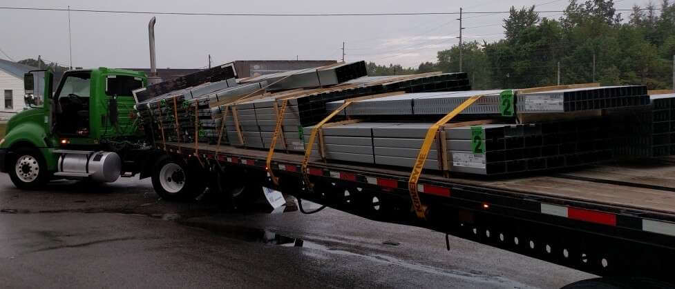 K-2:  The weight is concentrated on the left side of trailer. Product knowledge can help when tags are hidden.