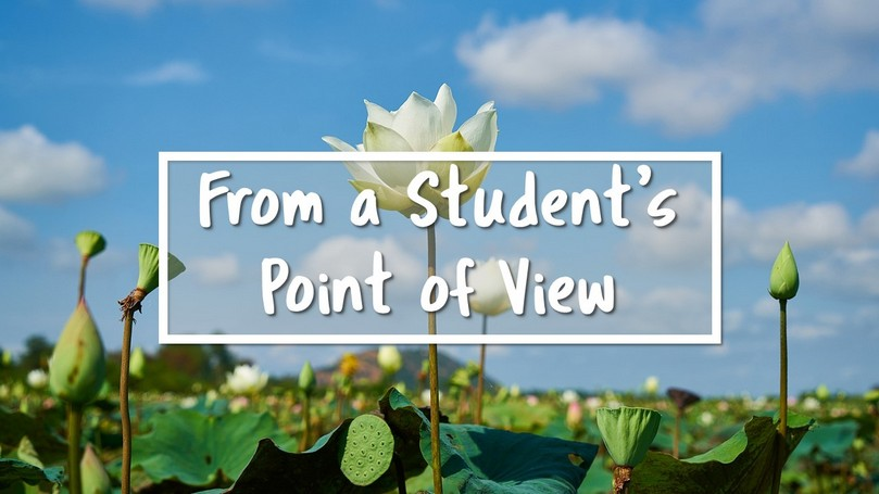 From a Students Point of View