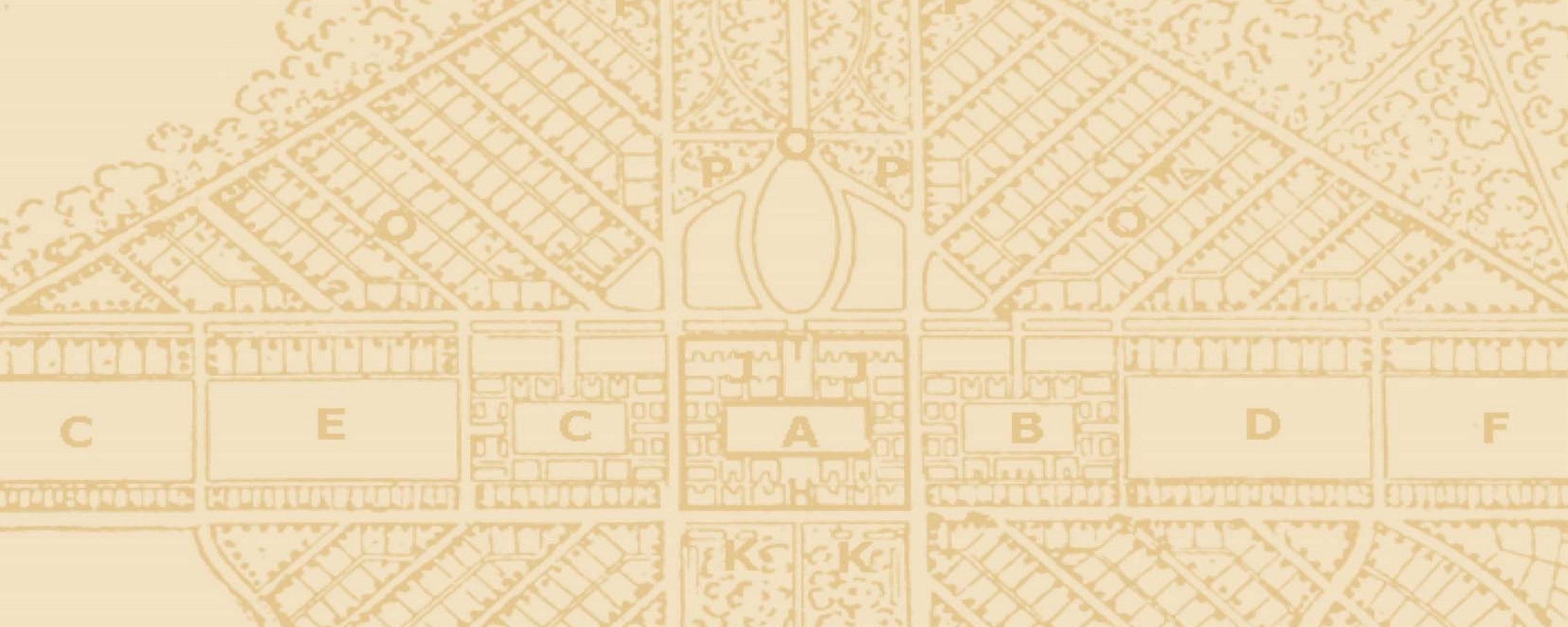 A portion of the 1888 Frederick Law Olmstead's master plan for the campus