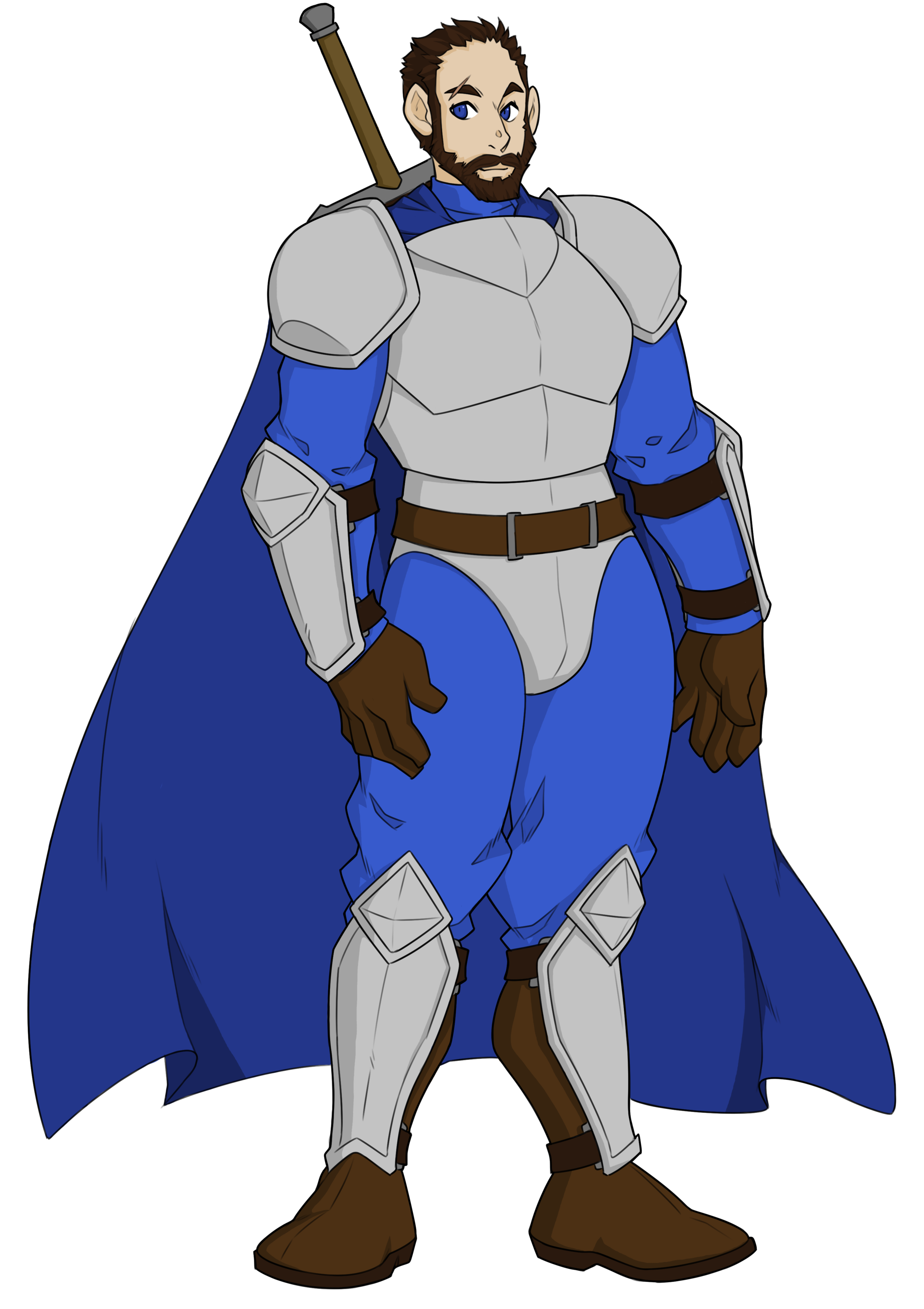 Dolvis - Class: SoldierAge: 22Hometown: DelladorDolvis is a capable swordsman and ends up joining the party as a helping hand when things go awry. He is usually a messenger of sorts between Dellador and the villages near it.