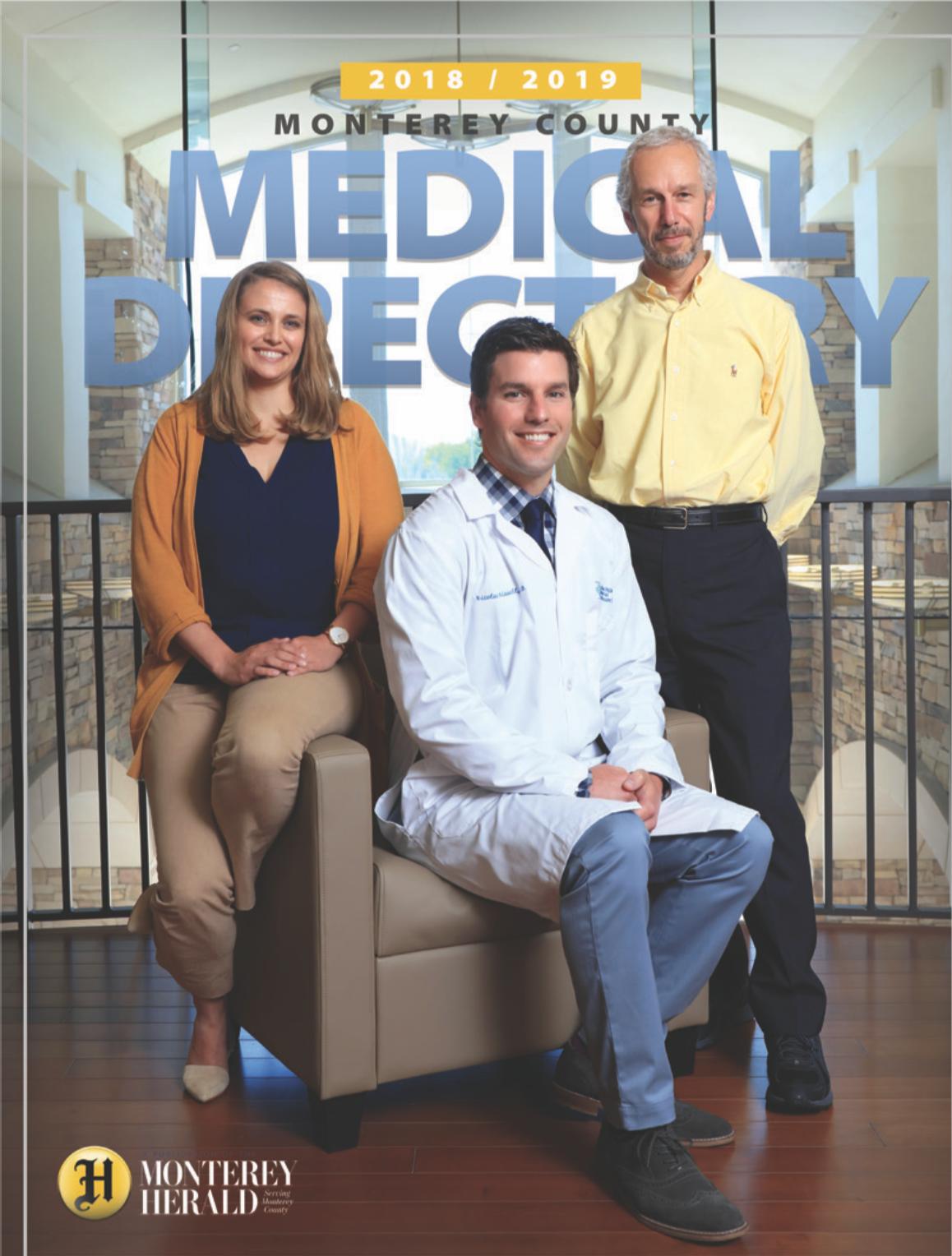 September 2018  Medical Directory