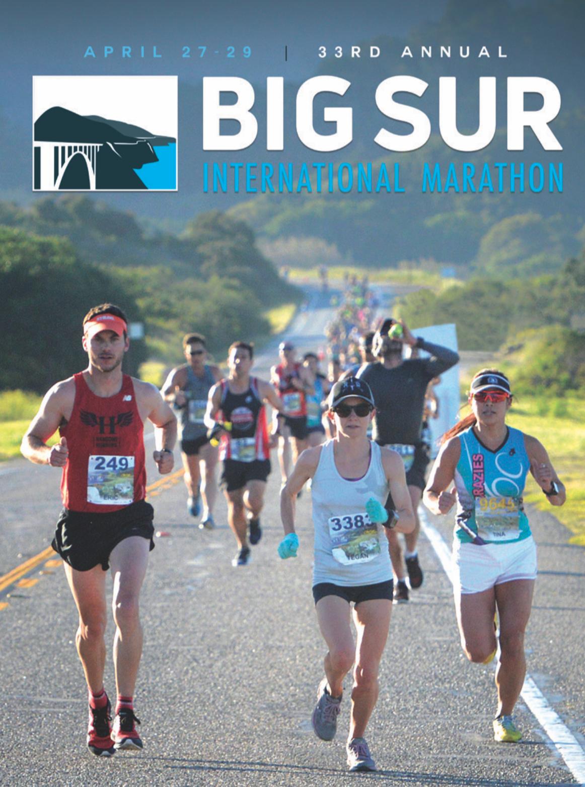 Big Sur International Marathon 2018