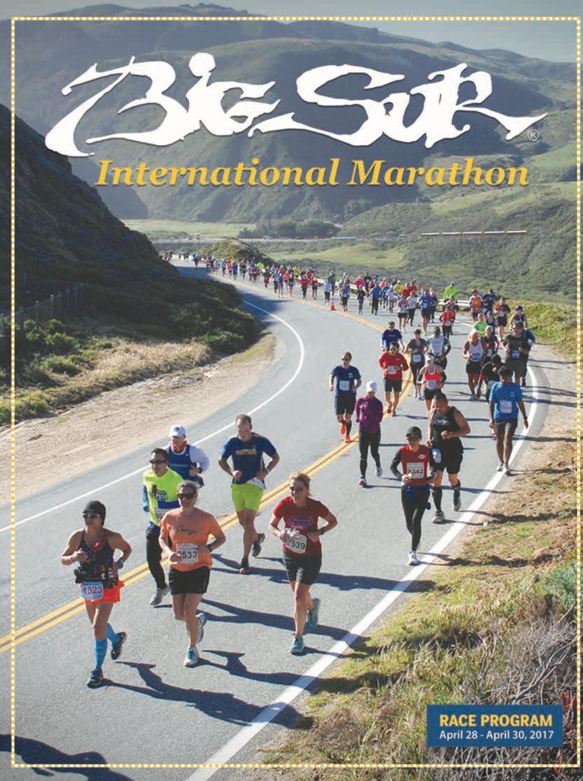 Big Sur International Marathon 2017