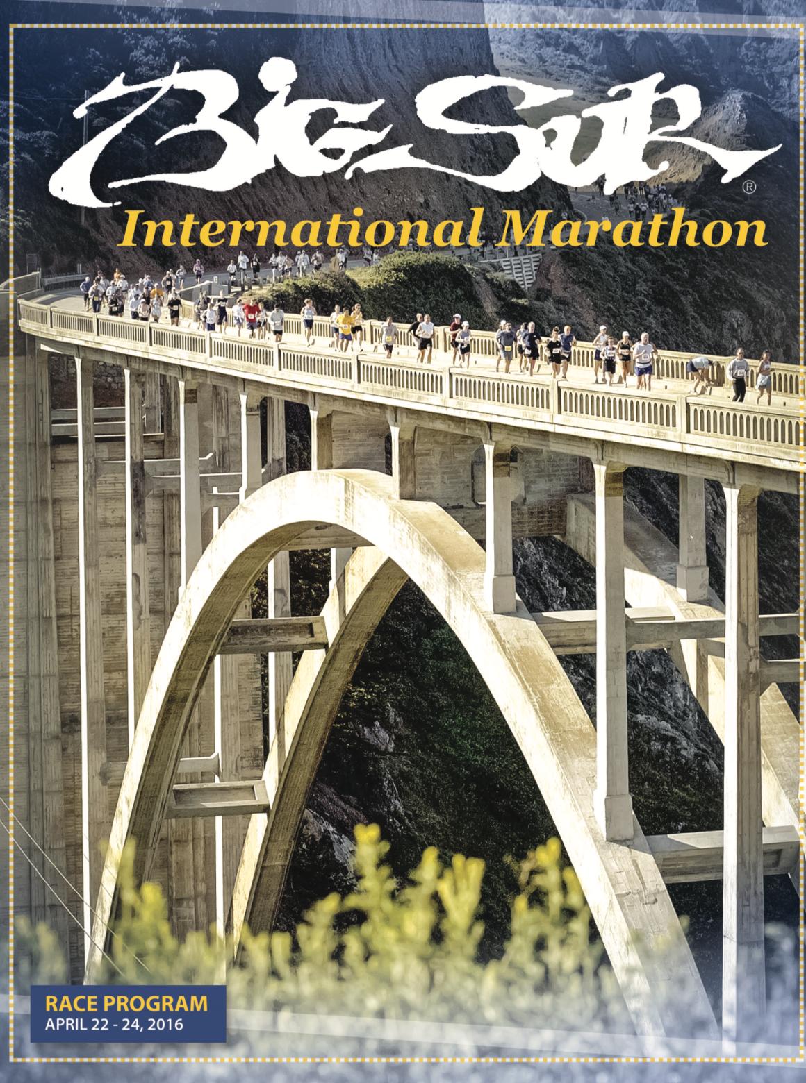 Big Sur International Marathon 2016