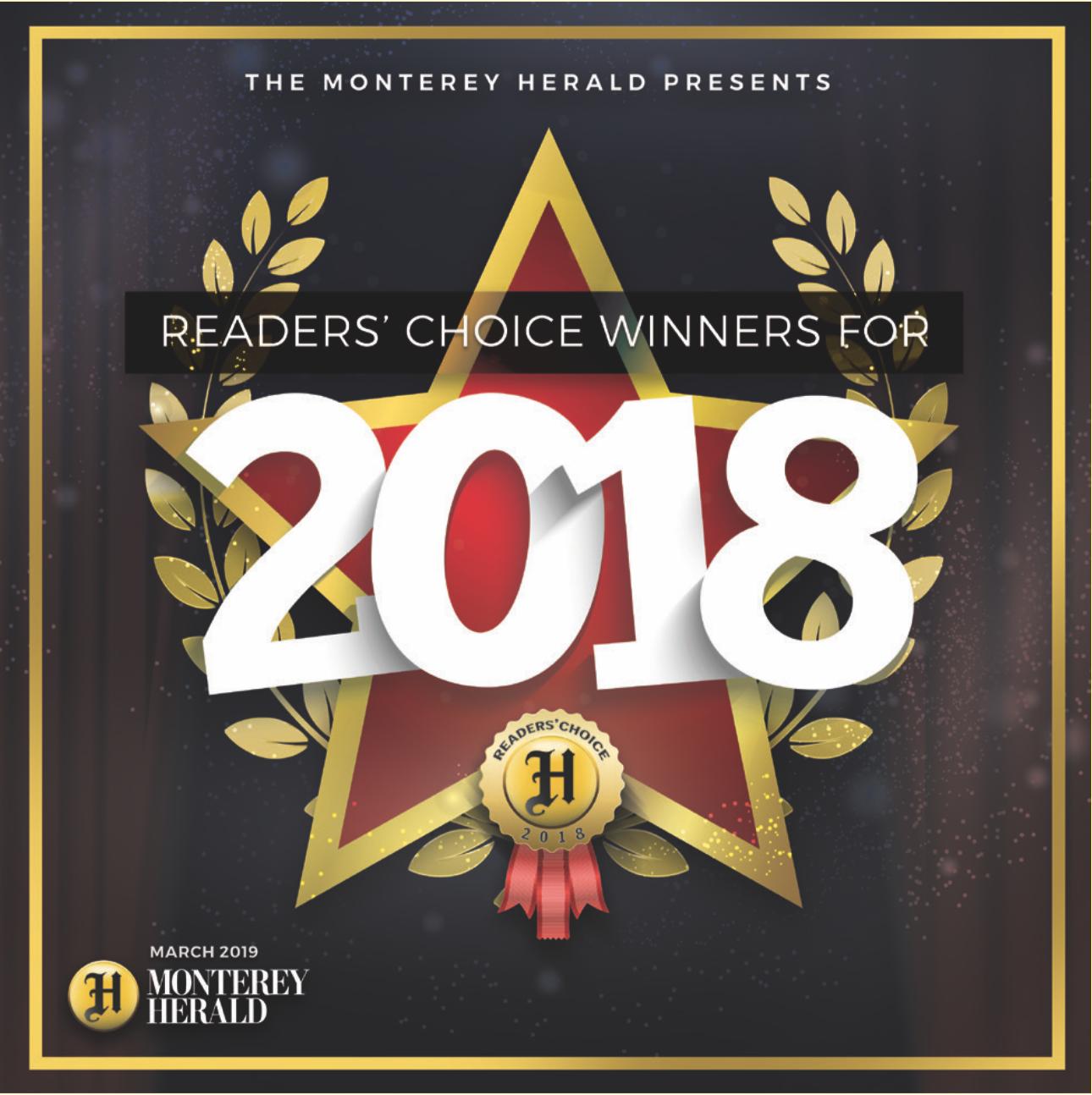 Readers' Choice 2019