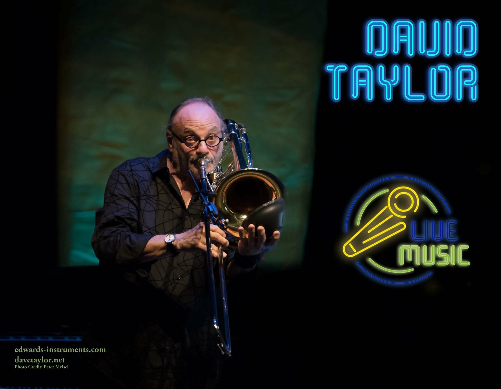 Edwards Instruments - David Taylor performs exclusively on Edwards Instruments, and has a line of custom mouthpieces.