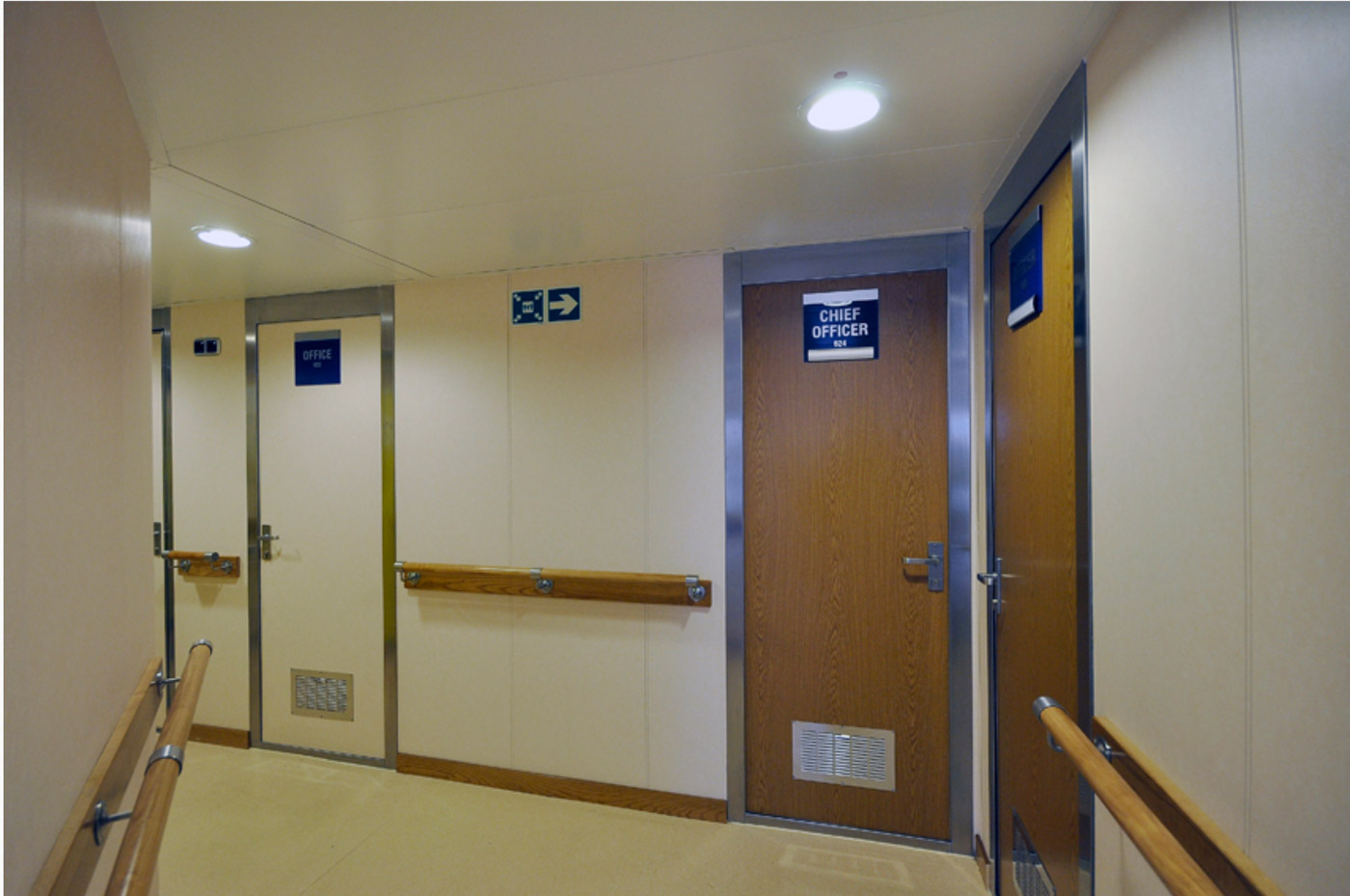 Interior Joiner Panels, Ceilings and Fire Doors