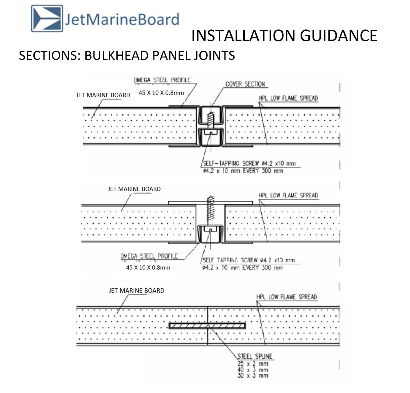 JetMarine Board Configuration