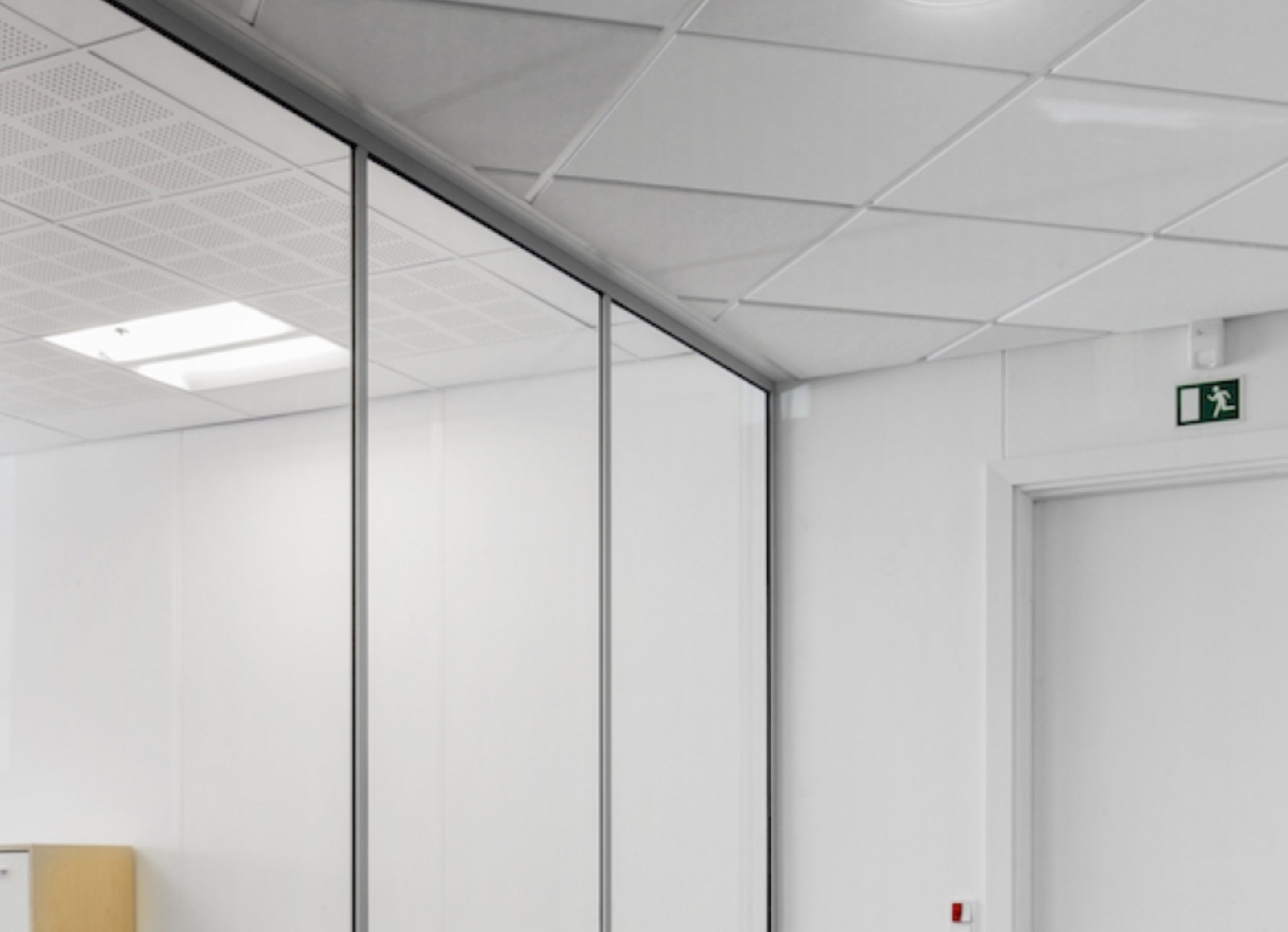 DEKO Ocean B15 & A60 Aluminum Frame Fixed Glass Partition
