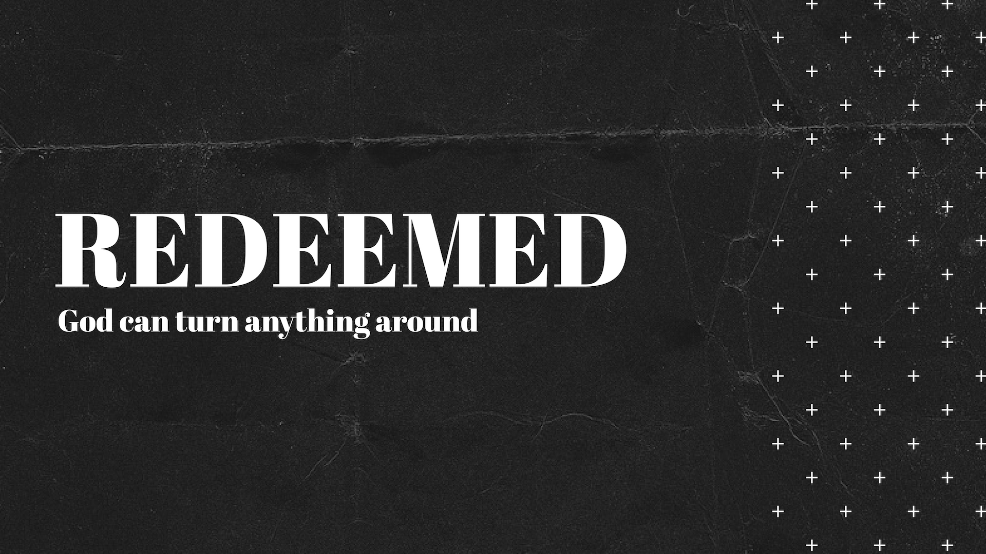 redeemed - THE MANY REDEMPTIVE STORIES FROM THE BIBLE. FROM RUTH TO RAHAB, WE HEAR HOW GOD'S MERCY CAN BRING US TO NEW MEANING AND NEW PURPOSE.