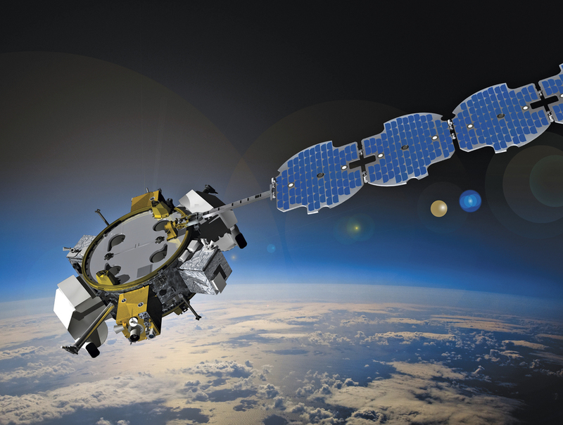 ESPAStar can carry payloads in low and geosynchronous orbit. Credit: Business Wire.