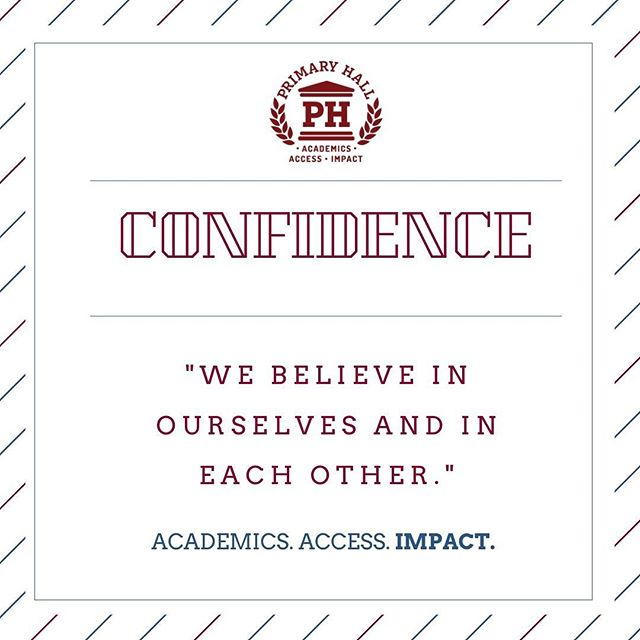 It takes courage to meet new challenges each day but having self-assurance and trust in one's community can lead to tremendous results! #educationisprimary #Impact #Charactereducation #buffalo