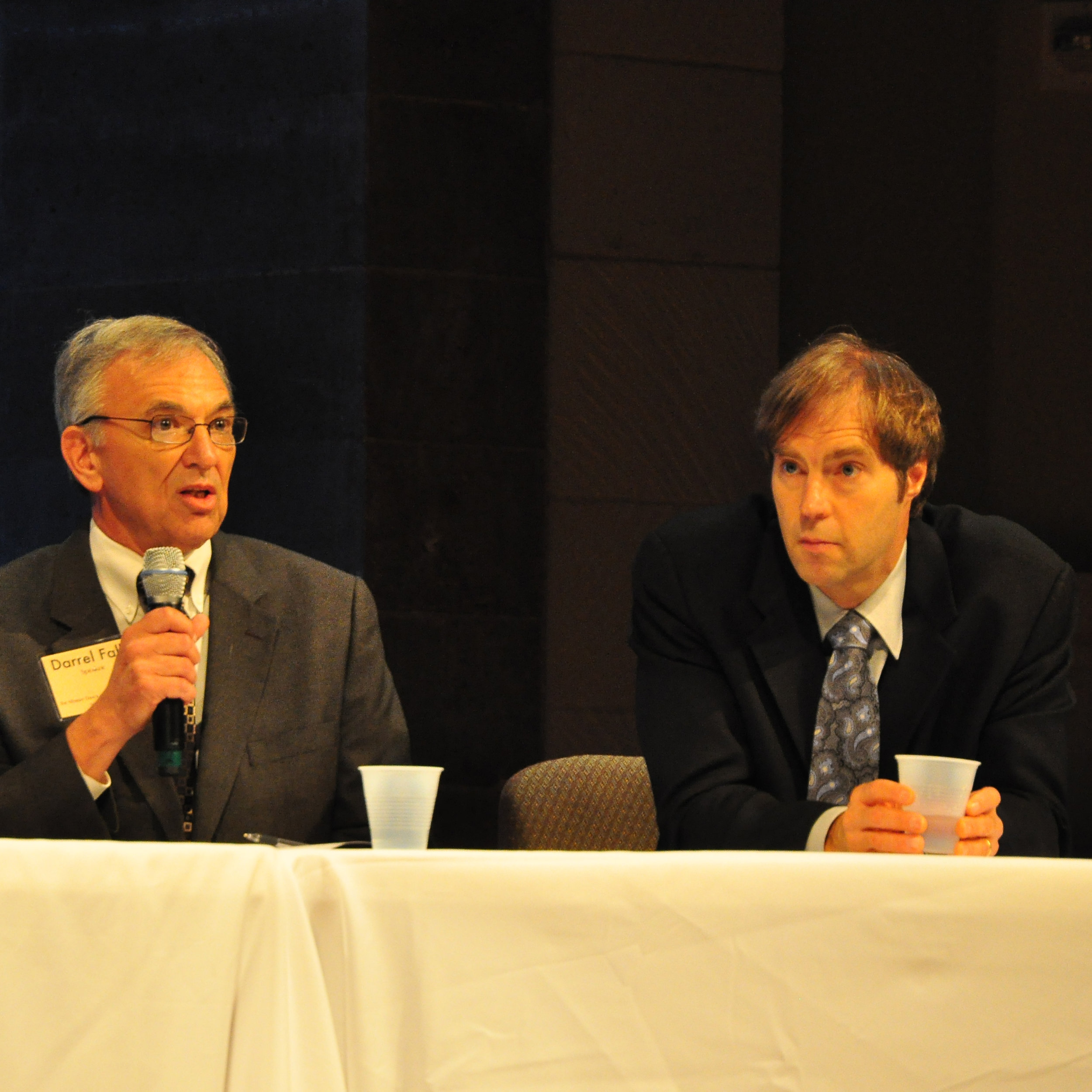 Steve Meyer and Darrell Falk.JPG