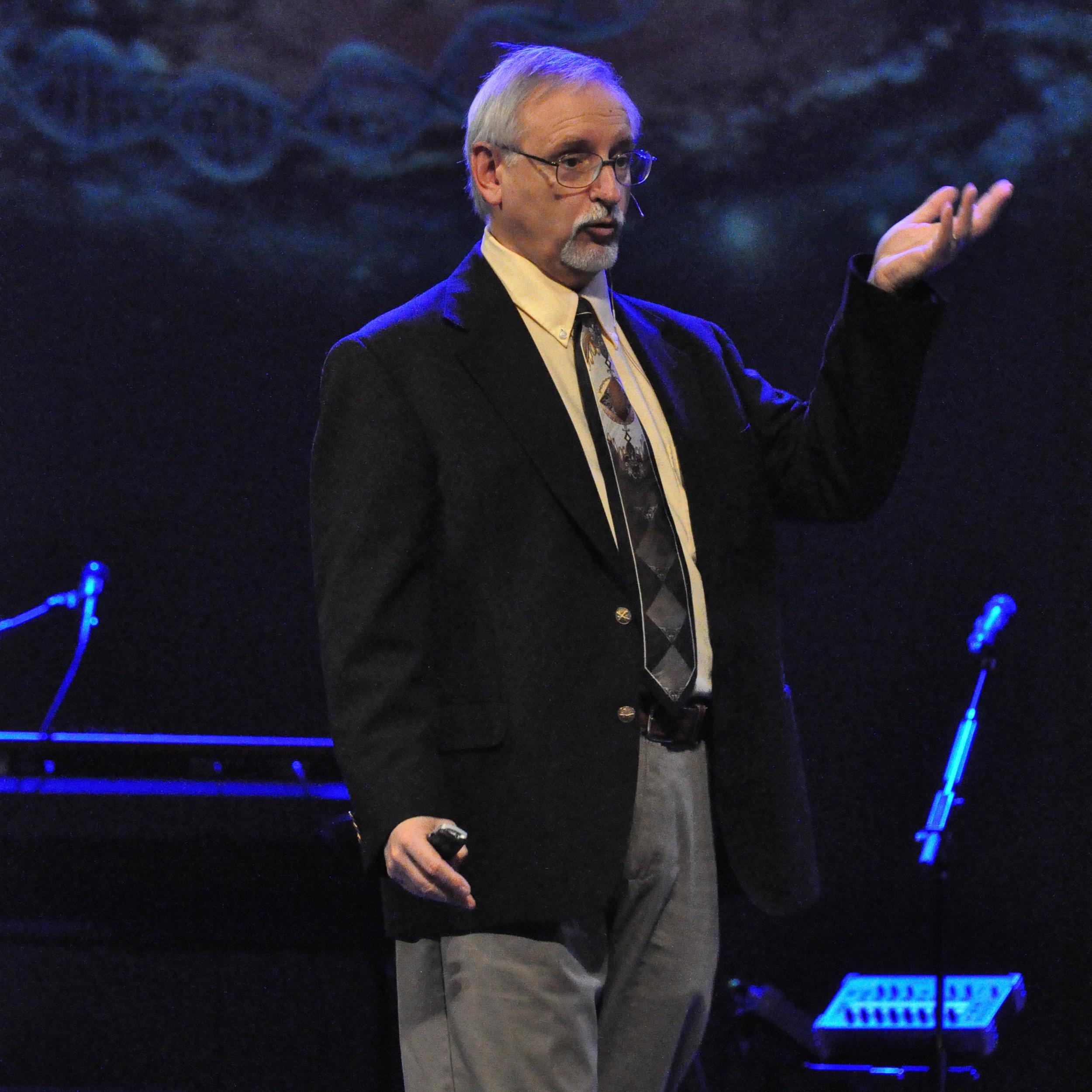 John Walton Speaking at Theology Conference.jpg