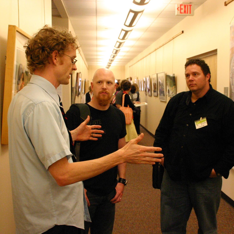 David Taylor Talking in Art Gallery.jpg