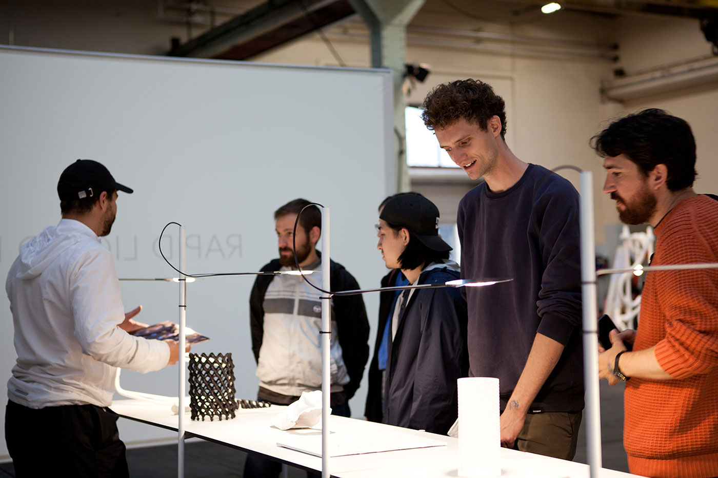 Design Biennale Zürich 2017, Active Materials, Christophe Guberan (Foto: Lukas Beyeler)