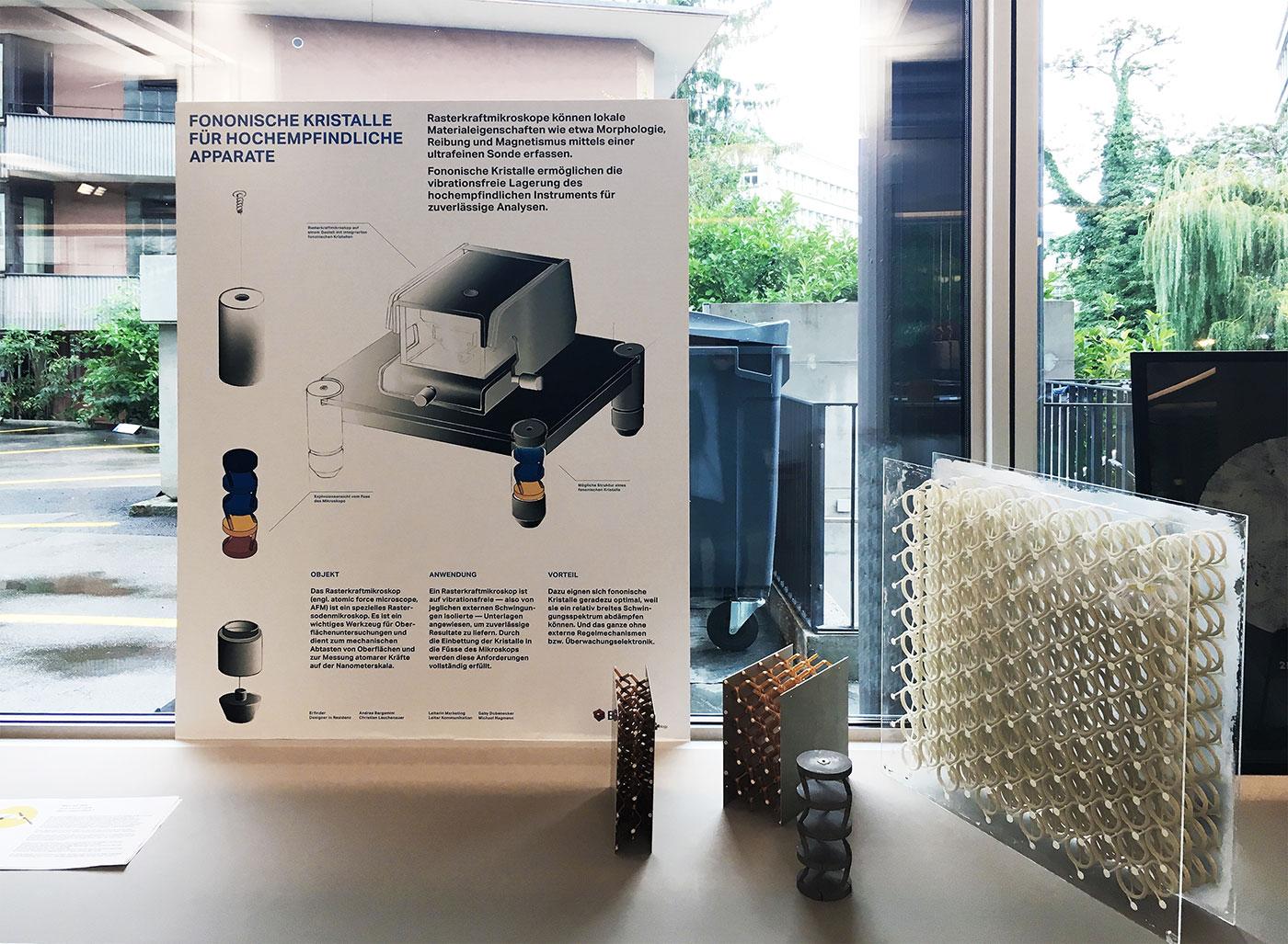 Design Biennale Zürich 2017, Bad Vibrations, Christian Lauchenauer, Empa (Foto: Design Biennale Zürich)