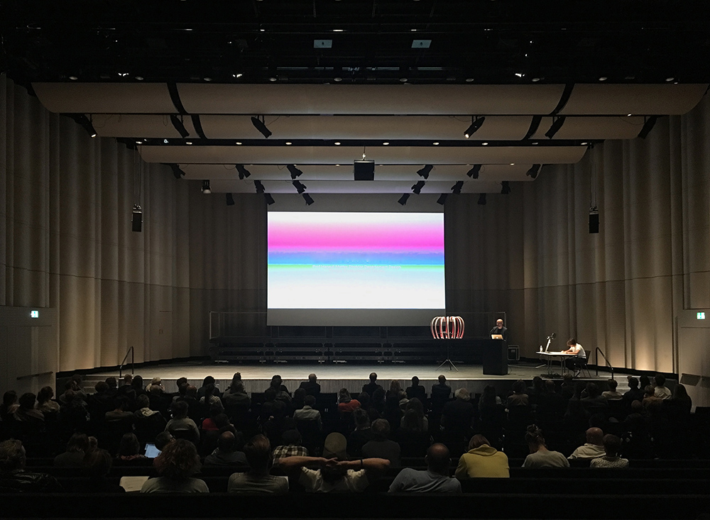 Design Biennale Zürich 2017, Conference What about Tomorrow, ZHdK, Toni-Areal