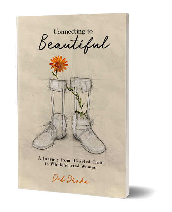 Available on Amazon - Take a deeper look into Deb's personal experience with her own disability in the pages of her NEW memoir!