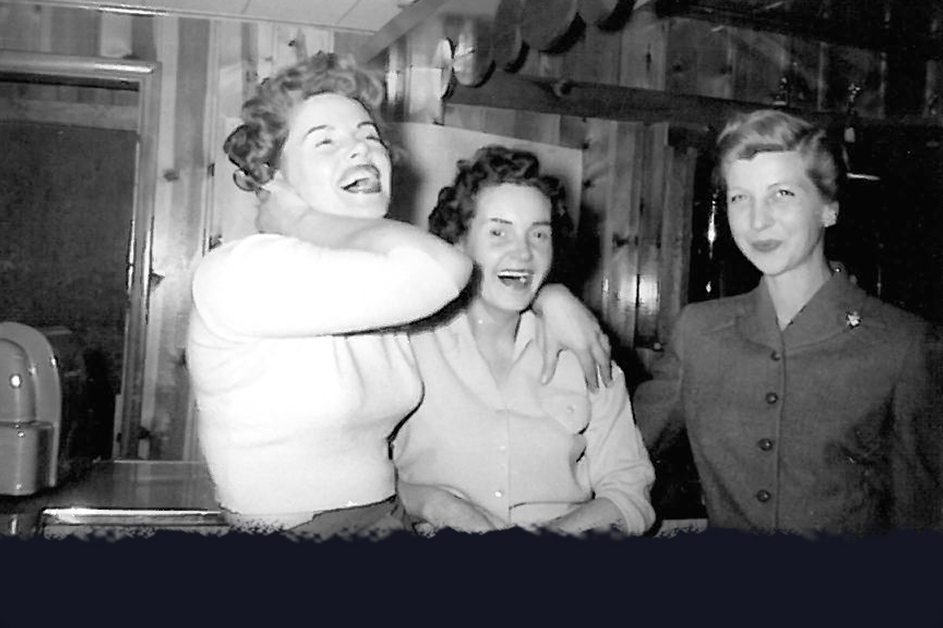 Wednesdays have always been Ladies Day at the Club. And, no, the one on the left is not Marilyn Monroe.