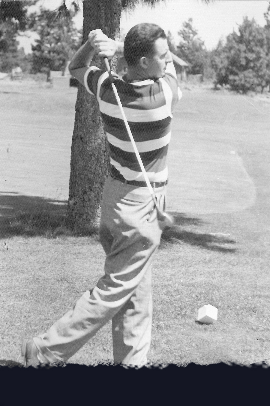 Jim Bushong—Club Champion 1949.