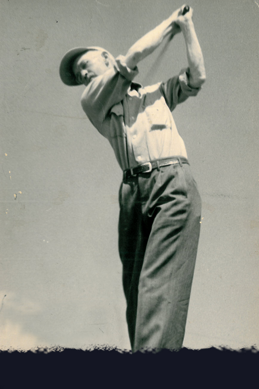 Farley Elliott—Handicap Winner 1950.