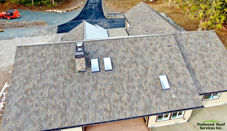 New Construction project using Malarkey Windsor XL, Graham, Washington