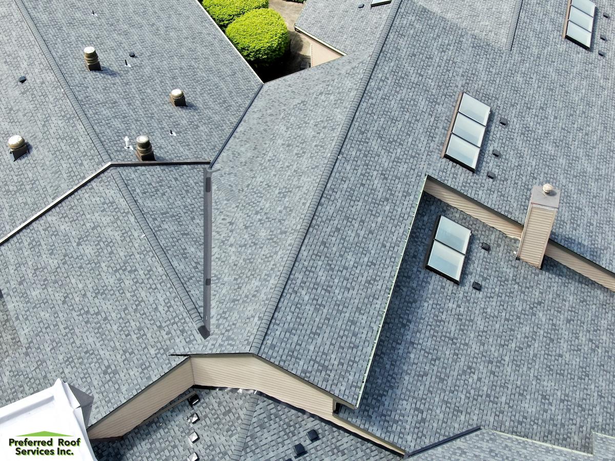 The Finished Asphalt Shingle Roofing System