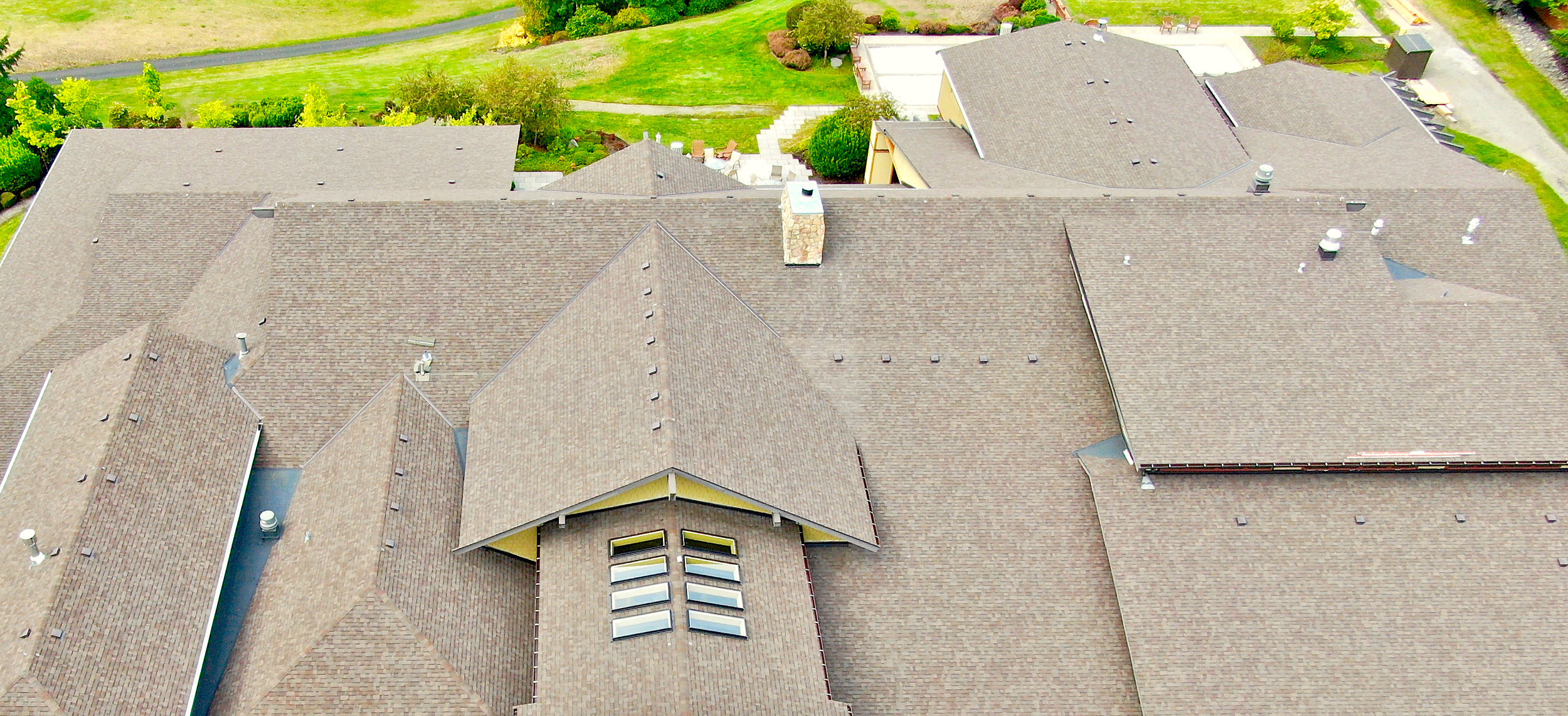 Finished Multifamily New Construction Asphalt Shingle Roofing Project In Lacey, Washington