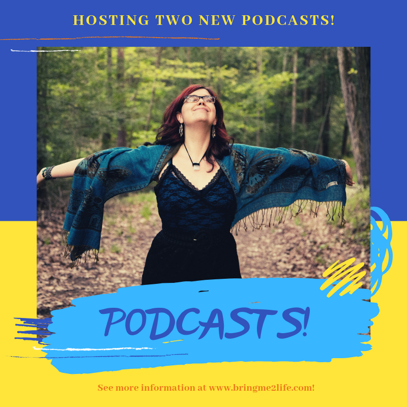 NEW PODCAST SERIES - I now am hosting TWO podcasts ( other than the Bring Me 2 Life Interviews!)Check out what I have to say on SHINE ON WITH SHANNON or my Collab project Awakening With The Girls!