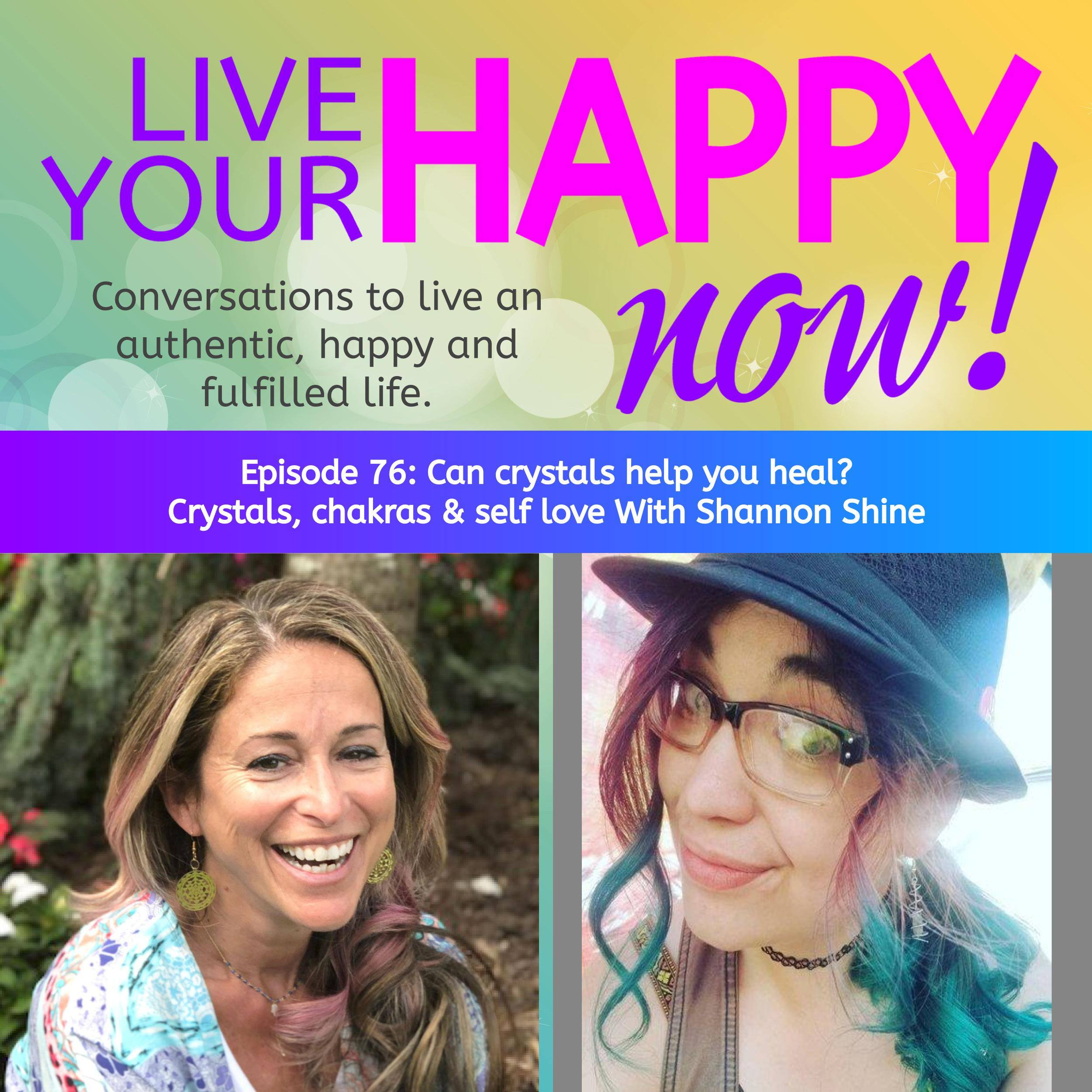 A discussion with Veronica - In this podcast we discuss:How can you connect to source in a different way?What can we learn from Millennials?What are crystals?How can you use crystals in your life?What would it take for you to love yourself & experience more joy?