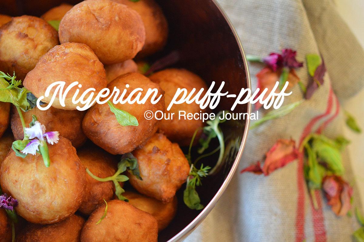 Nigerian puff puff