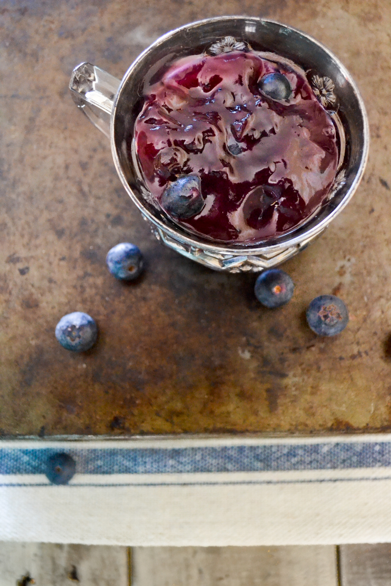 Blueberry Coulis - 2 Cups Frozen Blueberries100ml Water60g Castor Sugar30ml Lemon Juice2 Star Anice2 Cinnamon SticksAdd all the ingredients to a saucepan and heat over low heat for 40 minutes. Strain the coulis before use.